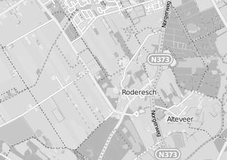 Kaartweergave van D van der togt in Roderesch