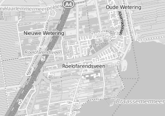 Kaartweergave van Hoogeboom in Roelofarendsveen