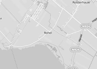 Kaartweergave van Slopen in Rohel