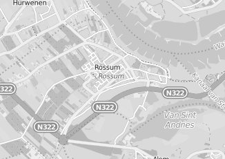 Kaartweergave van Drunen in Rossum Gelderland