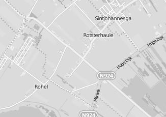 Kaartweergave van Wiersma in Rotsterhaule