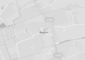 Kaartweergave van Groothandel in meubels in Rottum Groningen