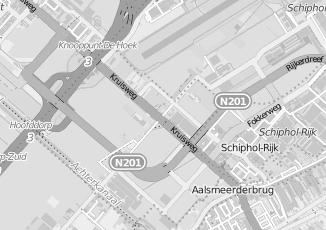 Kaartweergave van Accon avm in Rozenburg Noord Holland