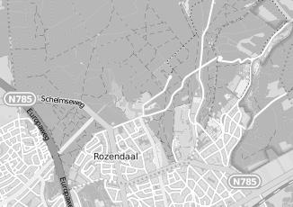 Kaartweergave van Rdw in Rozendaal