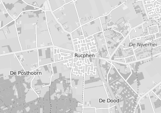 Kaartweergave van Ginneken in Rucphen