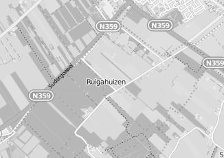 Kaartweergave van Goot in Ruigahuizen