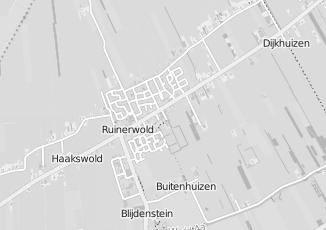 Kaartweergave van Auto in Ruinerwold