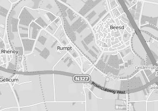 Kaartweergave van Bemmel in Rumpt