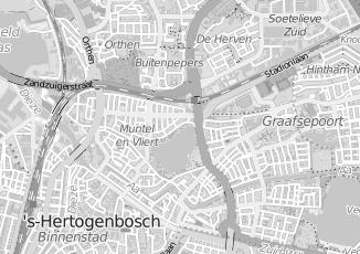 Kaartweergave van Jansen in S Hertogenbosch