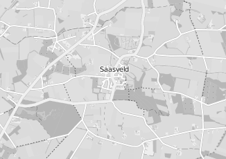 Kaartweergave van Nijland in Saasveld