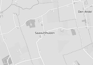 Kaartweergave van Bank in Saaxumhuizen