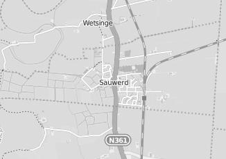 Kaartweergave van Wortel in Sauwerd