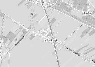 Kaartweergave van Ribw alliantie in Schalkwijk