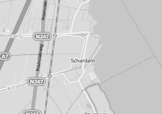Kaartweergave van Slopen in Schardam