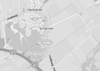Kaartweergave van Jumbo in Scharmer