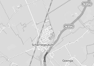 Kaartweergave van Albert heijn in Scharnegoutum