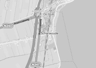 Kaartweergave van Naam bij adres in Scharwoude