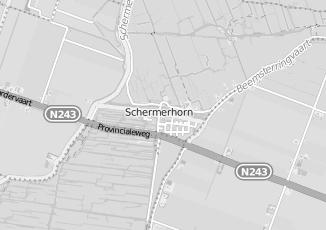 Kaartweergave van Milieustraat in Schermerhorn