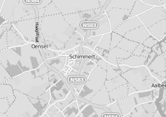 Kaartweergave van Huntjens in Schimmert