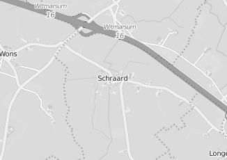 Kaartweergave van Milieustraat in Schraard