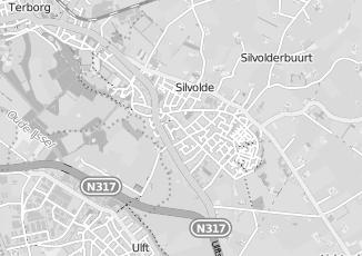 Kaartweergave van Meijer in Silvolde