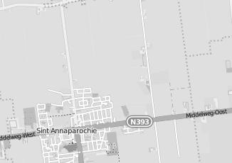 Kaartweergave van Miedema in Sint Annaparochie