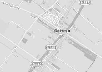 Kaartweergave van Doornbos in Slochteren