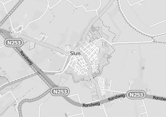 Kaartweergave van Installatiebedrijf in Sluis