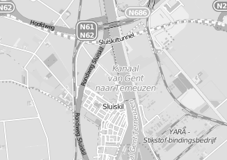 Kaartweergave van Calseijde in Sluiskil