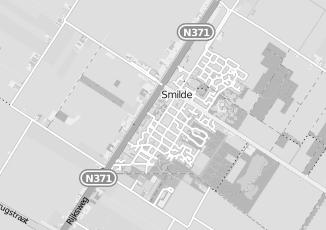 Kaartweergave van Meijer in Smilde