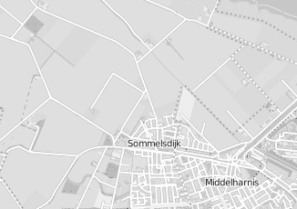 Kaartweergave van Bakker in Sommelsdijk