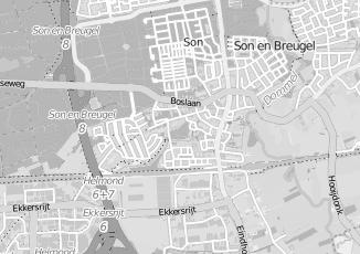 Kaartweergave van Udenhout in Son
