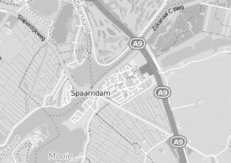 Kaartweergave van Rdw in Spaarndam West