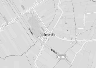 Kaartweergave van Bus in Spierdijk
