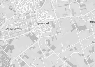 Kaartweergave van Bruijn in Sprundel