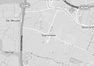 Kaartweergave van Albert heijn in Starnmeer