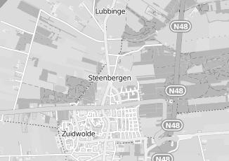 Kaartweergave van Groothandel in kleding en mode in Steenbergen Drenthe