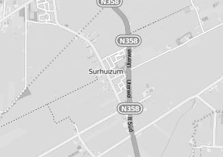 Kaartweergave van Postma in Surhuizum