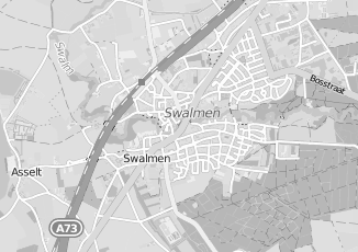 Kaartweergave van Blom in Swalmen