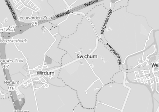 Kaartweergave van Wiersma in Swichum