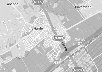 Kaartweergave van Olthuis in T Harde