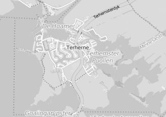 Kaartweergave van Dijkstra in Terherne