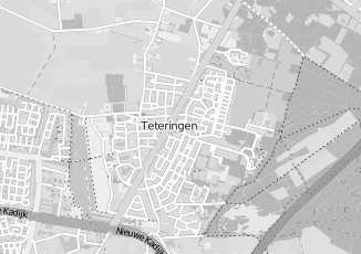 Kaartweergave van Haperen in Teteringen