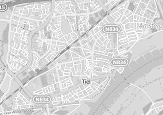 Kaartweergave van Hesselink in Tiel
