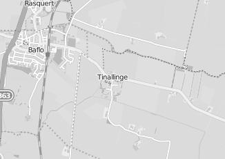 Kaartweergave van Van den boogaard in Tinallinge