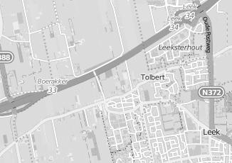 Kaartweergave van Terpstra in Tolbert