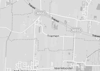 Kaartweergave van Albert heijn in Triemen