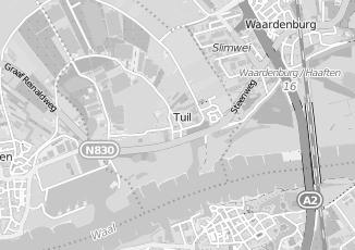 Kaartweergave van Heuvel in Tuil