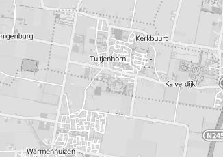 Kaartweergave van Mooy in Tuitjenhorn