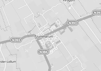 Kaartweergave van Postma in Tzummarum